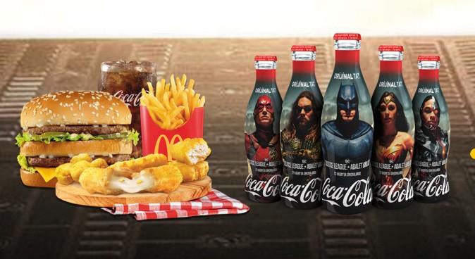 Coca-Cola x Justice League chez McDonald's (Turquie)