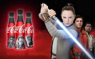 Coca-Cola zero sucres x Star Wars : 3 bouteilles collector en Grande-Bretagne