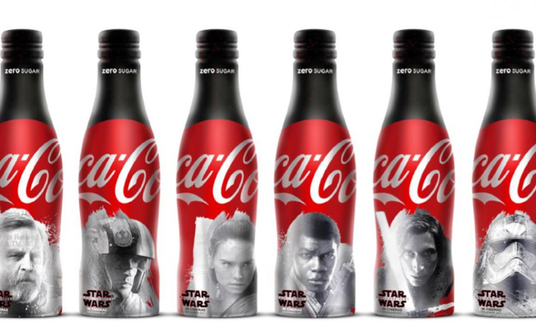 Coca-Cola zero sucres x Star Wars : la série de bouteilles collector commence à se dévoiler