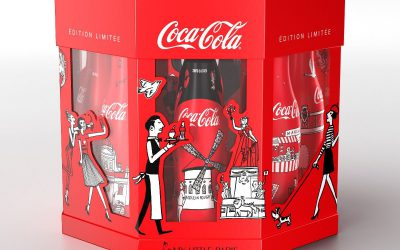 Le coffret Carrousel Paris disponible à la vente sur le Coca-Cola Store