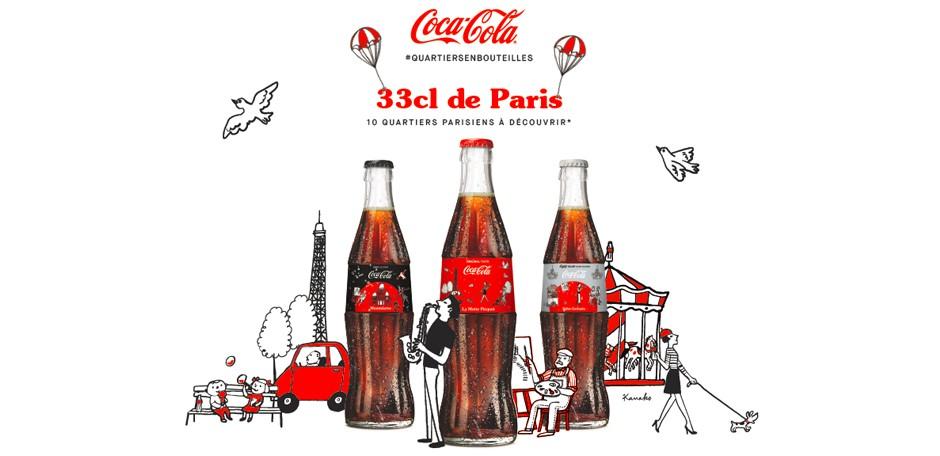 Paris de nouveau mis à l'honneur sur les bouteilles de Coca-Cola en verre