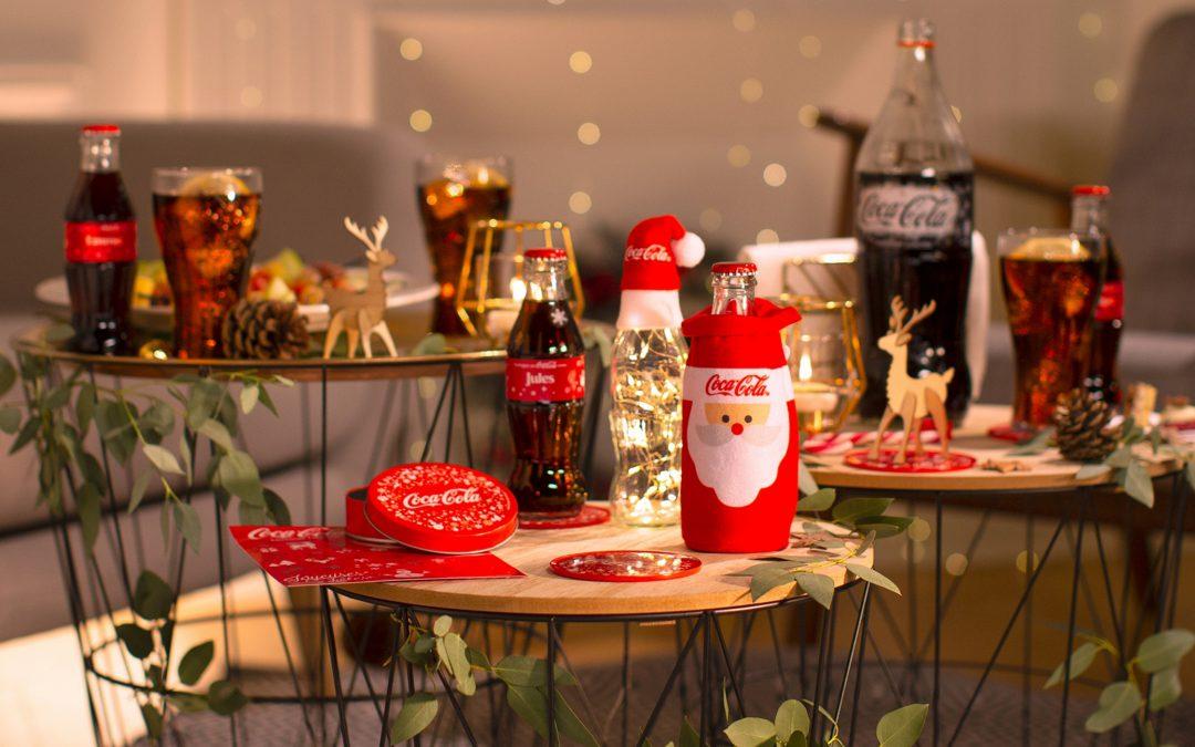 Découvrez et commandez le kit de décoration de Noël Coca-Cola