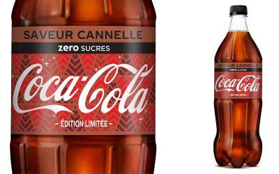 Le Coca-Cola zero sucres saveur Cannelle sera également disponible en France pour Noël