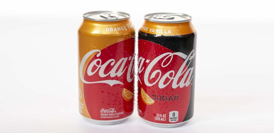 Coca-Cola propose de nouvelles saveurs à l'Orange aux Etats-Unis
