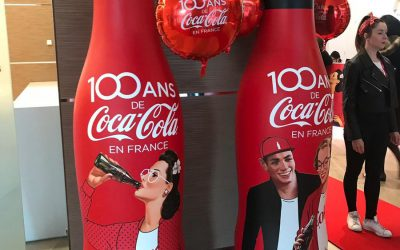 100 ans de Coca-Cola en France : bientôt de nouvelles bouteilles collector