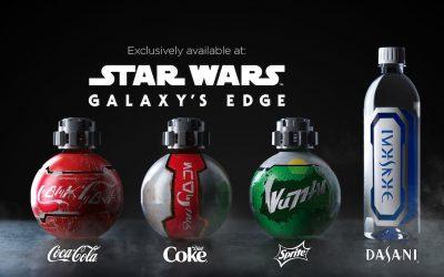 Des produits Coca-Cola exclusivement conçus pour l'univers Star Wars : Galaxy's Edge