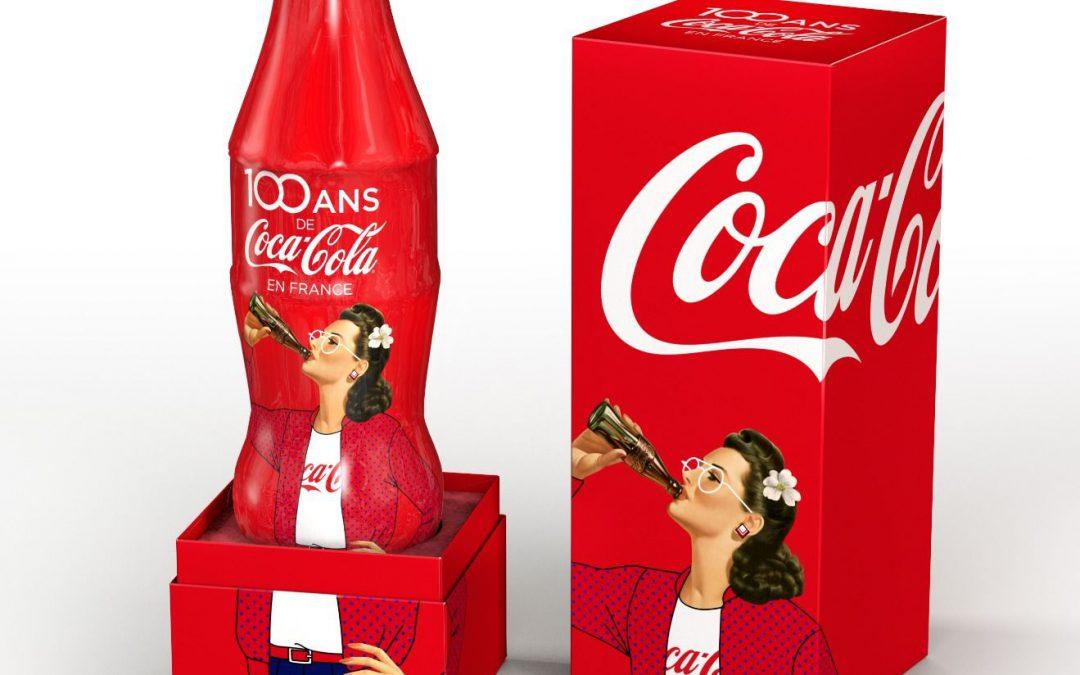 Un Coffret collector 100 ans disponible sur le Coca-Cola Store