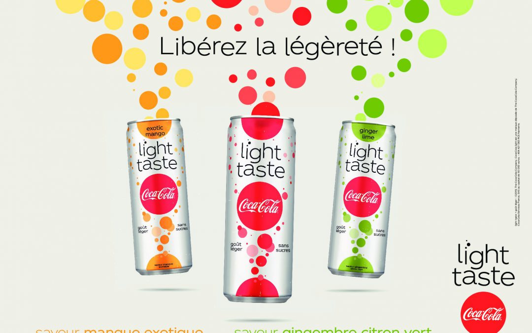 Coca-Cola Light Taste : la boisson sans sucres se réinvente