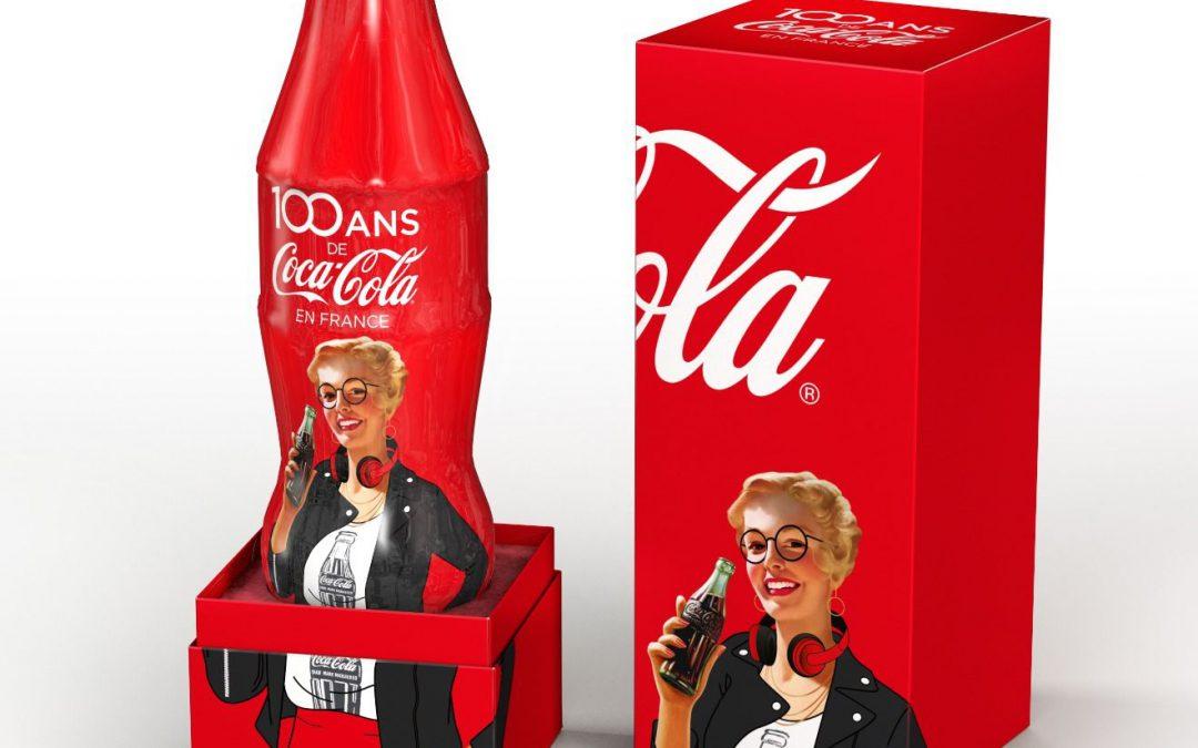 Le coffret collector 100 ans #3 disponible sur le Coca-Cola Store