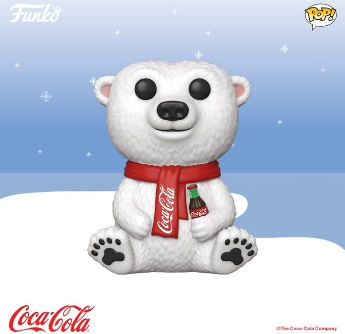 L'ours polaire Coca-Cola rejoint la collection Funko POP!