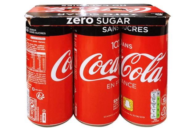 KeelClip  ™ , une solution en carton pour regrouper les canettes de Coca-Cola