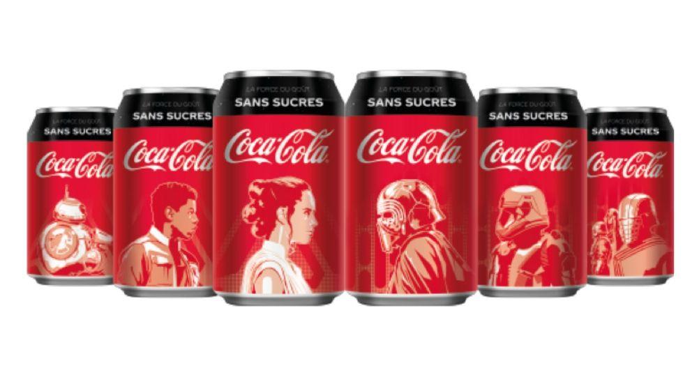 Coca-Cola zero sucres x Star Wars : éditions limitées pour accompagner l'épisode IX