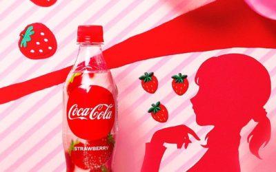 Et maintenant le Coca-Cola aromatisé à la fraise est disponible au Japon