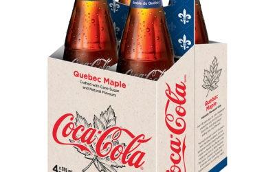 Coca-Cola Québec propose une variante au sirop d'érable