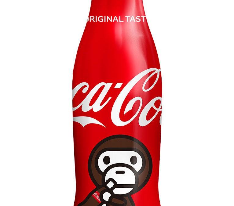 Bouteilles BAPE x Coca-Cola en édition limitée au Japon