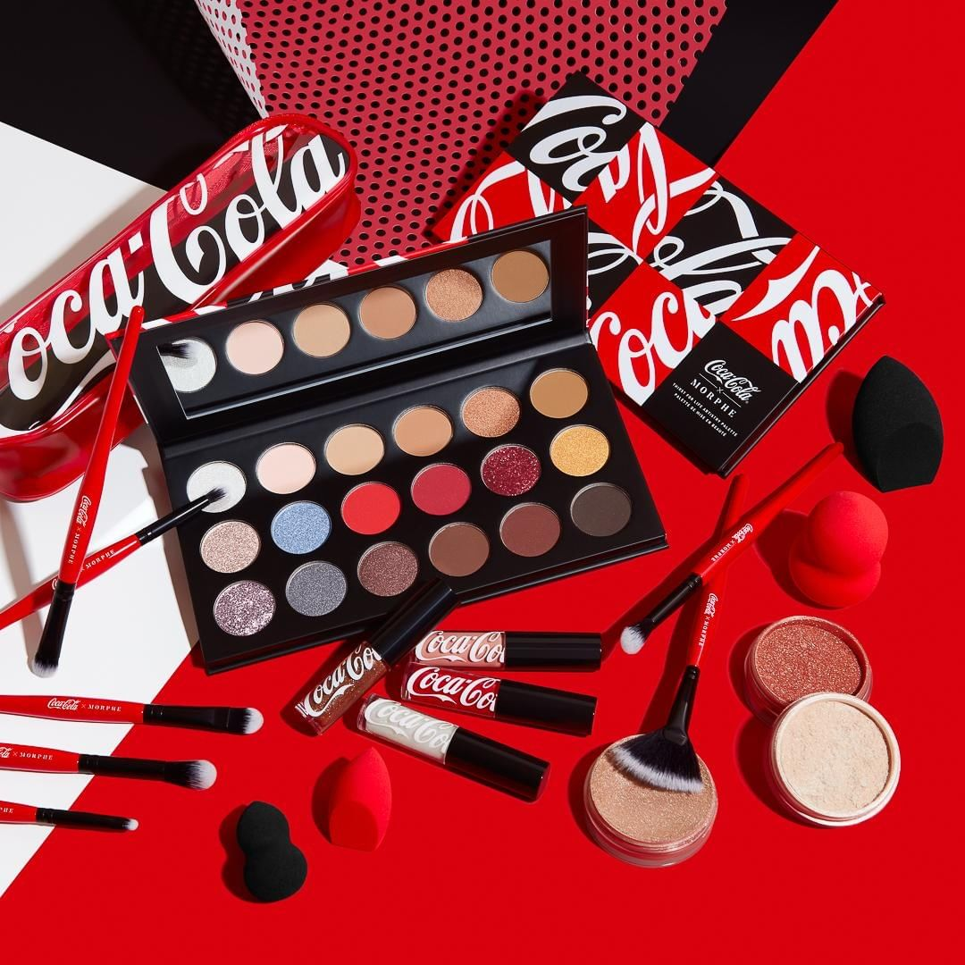 Coca-Cola x Morphe