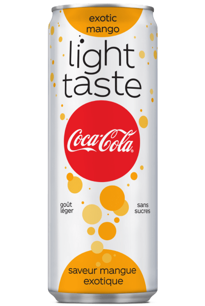 Coca-Cola light taste exotic mango