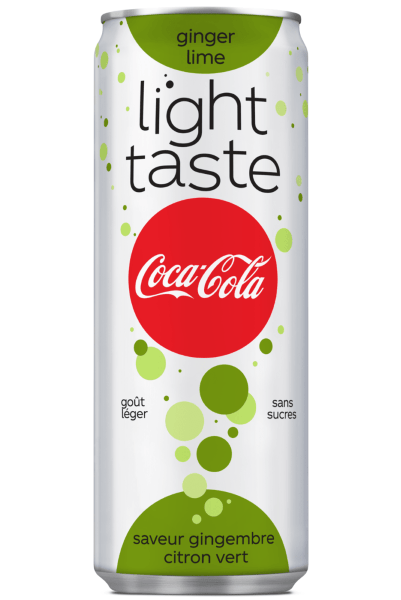 Coca-Cola light taste ginger lime