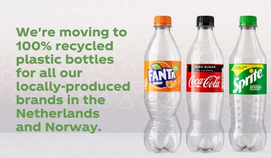Coca-Cola passe au 100 % recyclé en Norvège et aux Pays-Bas