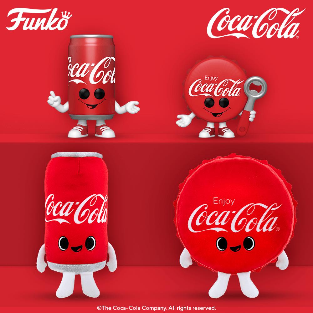 Funko POP! Coca-Cola Canette & Capsule