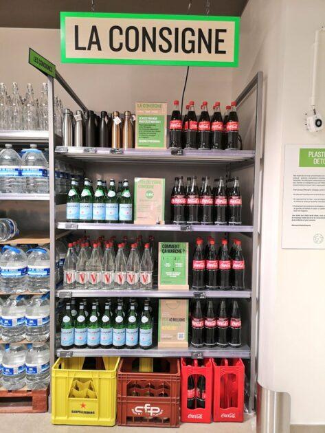 Monoprix expérimente la consigne avec Coca-Cola