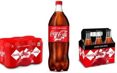 L'habillage de Noël arrive sur les produits Coca-Cola